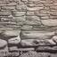 "Wallpaper Sticker วอลล์เปเปอร์แบบมีกาวในตัว ""ลายหินสีเทาดำ"" หน้ากว้าง 1.22m ตัดขายตามความยาว เมตรละ 250 บาท thumbnail 5"