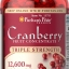 บรรเทาอาการในสตรี Triple Strength Cranberry Fruit Concentrate 12,600 mg / 200 sofgels thumbnail 1