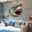 """สติ๊กเกอร์ติดผนัง 3D """"Shark"""" ความสูง 67 cm กว้าง 87 cm thumbnail 2"""