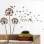 """สติ๊กเกอร์ติดผนัง หมวดดอกไม้ """"Brown Graphic and Angle"""" ความสูง 150 cm กว้าง 130 cm thumbnail 1"""