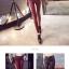กางเกงหนัง รัดรูปหญิง กางเกงดินสอ เอวสูง thumbnail 6