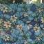 """PVC สูญญากาศติดกระจก """"Blue flower"""" หน้ากว้าง 90 cm ราคาต่อเมตร 270 บาท thumbnail 1"""