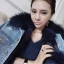 FUR DENIM JACKET thumbnail 1