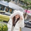 PRE Faux Fur Hooded Down Coat - short thumbnail 17
