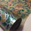 """สติ๊กเกอร์ติดกระจกแบบมีกาวในตัว """"Green and Orange"""" หน้ากว้าง 90 cm ตัดแบ่งขายเมตรละ 189 บาท (ขั้นต่ำ 3m) thumbnail 1"""