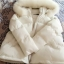 PRE Faux Fur Hooded Down Coat - short thumbnail 63