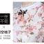 เสื้อลูกไม้เกาหลี ลายดอกไม้สีแดง thumbnail 3