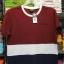 เสื้อยืดคอกลม สำหรับ ผู้ชายอ้วน 2XL 3XL 4XL รหัส NR61021 thumbnail 5