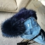 FUR DENIM JACKET thumbnail 16