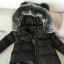 PRE Faux Fur Hooded Down Coat - short thumbnail 70