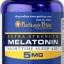หลับสบาย ผ่อนคลายความตึงเครียด Puritan's Pride Melatonin 5 mg ขนาด 60 Softgels thumbnail 1