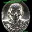 เหรียญหล่อโบราณ เนื้อนวะโลหะเต็มสูตร หลวงปู่คำพันธ์ โฆสปัญโญ วัดธาตุมหาชัย รุ่นปฐวีธาตุ ปี2545 thumbnail 1