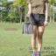 กระเป๋า mini vintage bag สายโซ่ 8 นิ้ว หนังดำ thumbnail 6