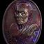 เหรียญรูปไข่ หลวงปู่มหาเจิม วัดสระมงคล จ.นครปฐม ปี 2549 ผิวรุ้ง thumbnail 1