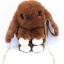 กระเป๋ากระต่ายขนปุย สายโซ่ทอง 8 นิ้ว thumbnail 1