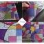 """PVC สูญญากาศติดกระจก """"Colorful Shape"""" หน้ากว้าง 90 cm ราคาต่อเมตร 270 บาท thumbnail 3"""