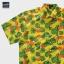 เสื้อเชิ๊ตแขนสั้น ลายสับปะรด สีเหลือง 2XL , 3XL thumbnail 1