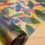 """สติ๊กเกอร์ติดกระจกแบบมีกาวในตัว """"ใบไม้ Colorful Leaf"""" ความสูง 90 cm ตัดแบ่งขายเมตรละ 189 บาท (ขั้นต่ำ 3m) thumbnail 1"""