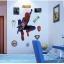 """สติ๊กเกอร์ติดผนังตกแต่งบ้าน """"Spider Man II สไปเดอร์แมน"""" ความสูง 90 cm ยาว 80 cm thumbnail 1"""