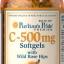 Puritan's Pride Vitamin C-500 mg with Bioflavonoids & Rose Hips ขนาด 250 Softgels thumbnail 1