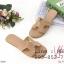 รองเท้าแตะผู้หญิง ตัว H หนัง ปั๊ม พร้อมกล่อง 36-40 สีครีม thumbnail 1