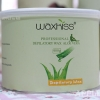 Strip wax กลิ่นวานหางจระเข้ (แว๊กซ์ร้อน แบบใช้ผ้าดึง) แบรนด์ WAXKISS กระป๋อง 400 กรัม