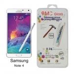 ฟิล์มกระจกนิรภัย สำหรับ Samsung Galaxy Note 4