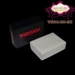 สบู่ตรีสรา Treesara Soap สูตรสีขาว (สครับน้ำนม)
