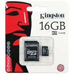 Kingston Memory Micro SD Card Class 10 - 16 GB