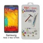 ฟิล์มกระจกนิรภัย สำหรับ Samsung Note 3 Neo G7505