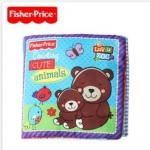หนังสือผ้า Fisher Price Counting Cute Animals