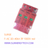 Surge แบบ SPD_F-DC ขนาด 20-40kA 3P 1000V red