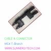 cable & connector(ตัวเชื่อมสายไฟ) แบบ MC4 -T ฺBranch
