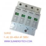 Surge แบบ SPD_F-AC ขนาด 20-40kA 4P 385V white