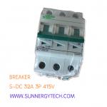 Beaker แบบ MCB_S-DC ขนาด 32A 415V 3P