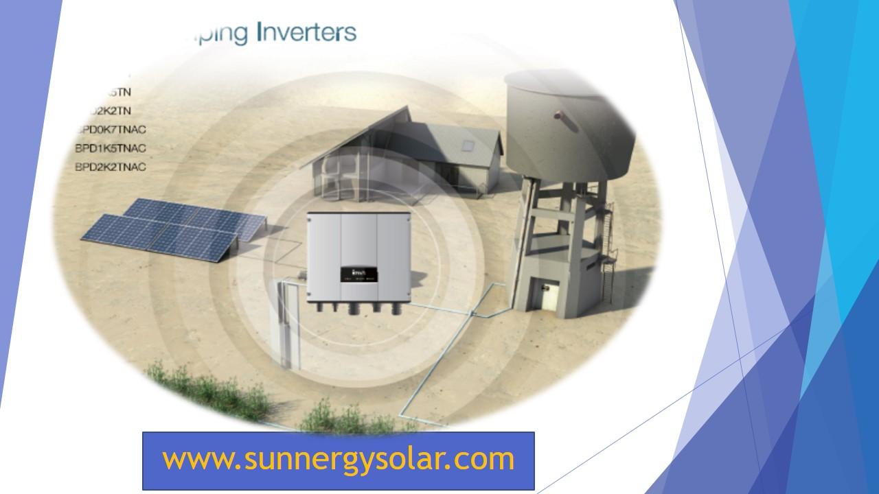 INVT BPD inverter สำหรับปั๊มน้ำ 2HP แรง 220V 1เฟส/3เฟส