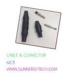 cable & connector(ตัวเชื่อมสายไฟ) แบบ MC3