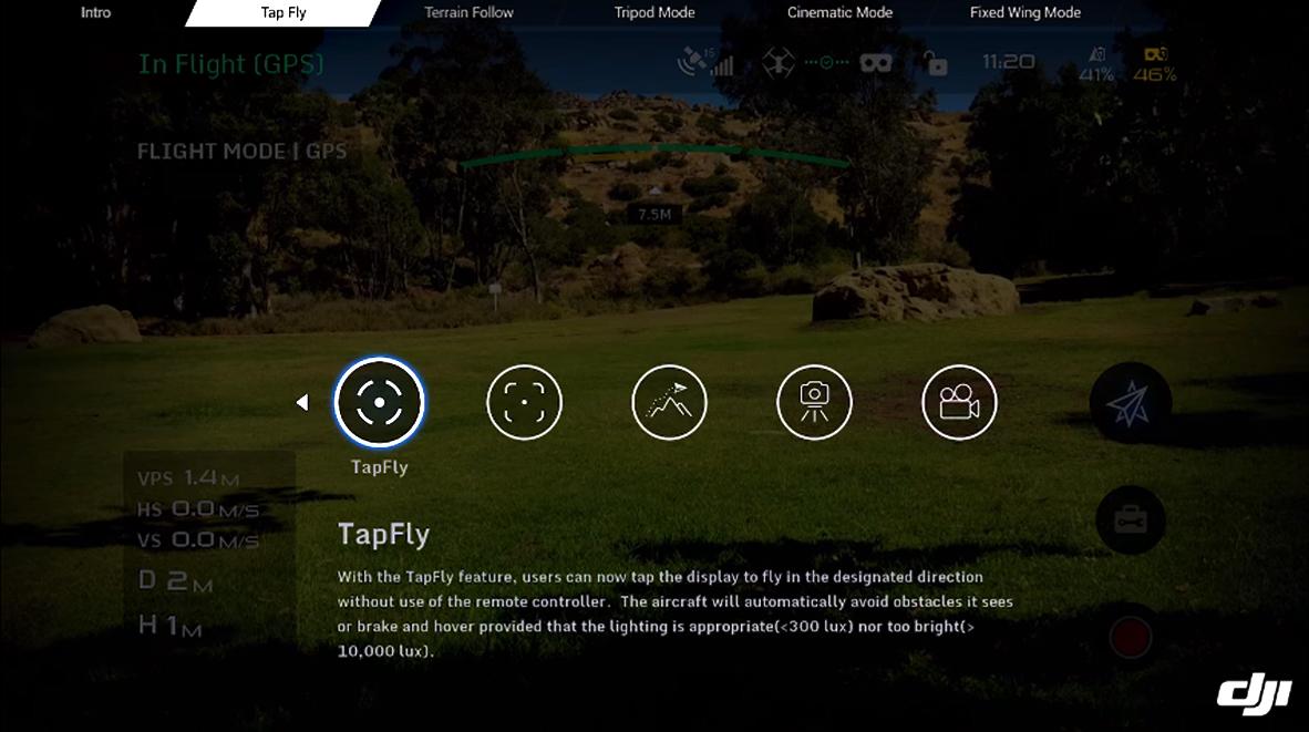 โหมดการใช้งาน DJI GOGGLES - ExtreamGoPro ขายกล้อง GoPro