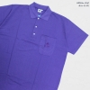 Basic Polo สีม่วง 2 3 4 5XL ผ้าจุติ มีกระเป๋าหน้า