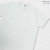 Basic Polo สีขาว 2 3 4 5XL ผ้าจุติ มีกระเป๋าหน้า