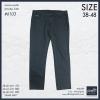 """40-48"""" กางเกงยีนส์ ขายาว BIGSIZE ทรงกระบอกเล็ก #6103 สีเทา"""