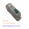 Beaker แบบ MCB_S-DC ขนาด 20A 250V 1P