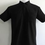 เสื้อโปโลนาโน สีดำ
