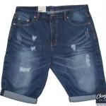 """กางเกงยีนส์ขาสั้น แนวเซอร์ ผ้าดีใส่สบาย ขาไม่กว้างจนเกินไป Size 30""""-46"""""""