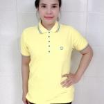 เสื้อโปโลนาโนสีเหลือง