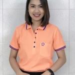 เสื้อโปโลนาโน (สีส้มTD)