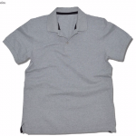 Basic Polo สีเทา Topdry M-4XL (Changyim) ผ้าจุติ