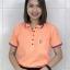 เสื้อโปโลนาโน (สีส้มTD) thumbnail 1