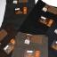 """38-46"""" กางเกงผ้ายืด ขากระบอก #L105 สีดำ,โอวัลติล,กรม,เทา,น้ำตาล thumbnail 4"""