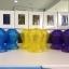 กระปุกออมสินสีฟ้า,สีเหลือง,สีม่วง thumbnail 1